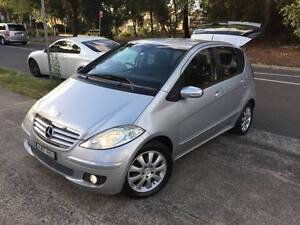2005 MY06 Mercedes-Benz A170 Auto LOW KS LONG REGO MAGS A1 Sutherland Sutherland Area Preview