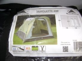 tents.. hook up lead £20 ...caravan lock £15 airbeds £10 .carpet for tent £15