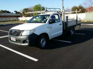 2012 Toyota Hilux Workmate Manual Tray Lift Bluetooth Marion Marion Area Preview