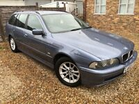 BMW 520I SE Touring 2171cc Petrol Automatic 5 door estate 02 Plate 15/08/2002 Blue