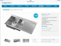 Brand new still boxed satin finish sink by 1810 company