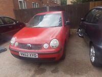 VW POLO 1.4 ONLY £595