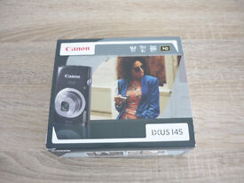 CANON IXUS 145 16 Mega Pixels, 8 x Zoom Digital Camera Complete in Box Immaculate Condition