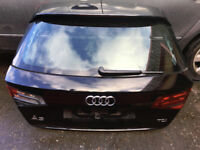 2014 Audi A3 S-line 5door SportBack Black , Tail Gate