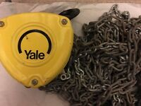 Yale. Hand Tool. Hand Chain Hoist 500kg. 6 meters chain. Please contact via mail