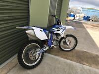 2004 Yamaha YZF 250 four stroke top condition