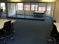 All inclusive central private office to rent