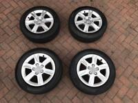 Audi A3 2011- genuine 16 inch tyres
