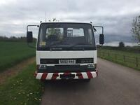 Leyland DAF 45 ti 7.5t beaver tail recovery truck vintage tractors and machinery winch