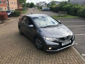 Honda Civic 2014 1.6 i-DTEC SE Plus 5dr (dab, premium) Finance Available