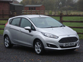 2013 FORD FIESTA 1.0 ECOBOOST ZETEC 5DR **FREE ROAD TAX & FULL SERVICE HISTORY**