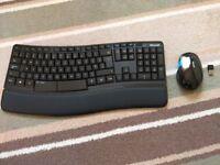 Microsoft Sculpt Comfort Desktop Keyboard and Mouse Set UK Layout