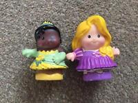 Disney Princess Little People characters