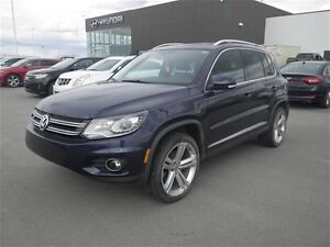 2014 Volkswagen Tiguan SE/Leather/ Pano Sunroof/ Rear CAM