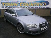 ***Dec 2007 Audi A6 S LINE TDI **AVANT**BOSE UPGRADE**SAT NAV**LEATHER ( estate passat a4 golf a3 )