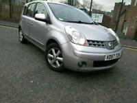 2007 NISSAN NOTE 1.4 ACENTA MANUAL PETROL LOW MILES PREVIOUS ONE OWNER
