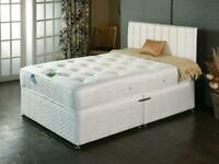 Aloe Vera 1000 pocket sprung and memory foam bed Double or Kingsize