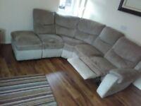 Sofa -Corner -2 Tone Fawn