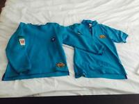 BEAVERS POLO T-SHIRT AND JUMPER FOR AGE 6-7YEARS