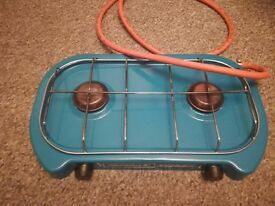 campingaz 2 burner gas cooker