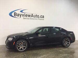 2016 Chrysler 300 S- 3.6L! REMOTE START! PANOROOF! LEATHER! NAV!