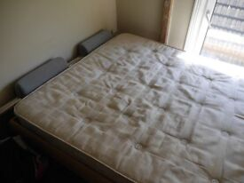 Good condition Hasena King-size double bed