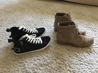 New women's shoes, size 3