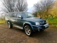 MITSUBISHI L200 ANIMAL 2005, CARRYBOY CANOPY! MUST SEE! LOW MILES!