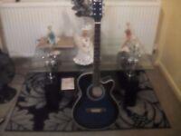 Benson acoustic guitar £35 cash