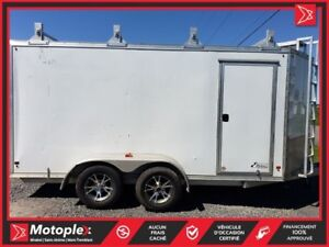 2015 Mission Trailers DOUBLE ESSIEUX 7'X7X16' 37$/SEMAINE