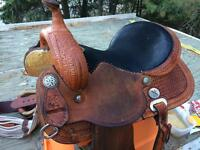 14'Reinsman X Series Barrel Saddle