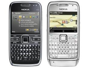 100% FONCTIONNEL RARE NOKIA E71 TELUS WIFI TOUCH SMART PHONE QWERTY CELL CELLULAR GSM/HSPA 3G WITH CHARGER INCLUDED