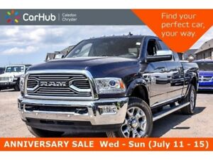 2018 Ram 2500 Limited|4x4|Diesel|Navi|Sunroof|Trailer Tow Group|
