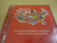 BUDWEISER CD - USA MUSIC TOUR