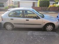 Rover 214, low mileage, owned by one family, new MOT.