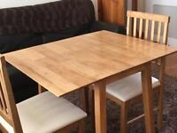 BRAND NEW SPACE SAVING DINING SET