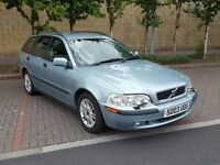 2003 Volvo V40 1.9 S Estate - FSH - 12 months MOT - 2 OWNERS