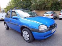 1999 Vauxhall Corsa 1.2 16v Automatic 5 door, hpi clear £400