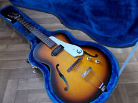 Epiphone Inspired by 1966 Century with Epiphone Hard Case New Gibson ES-125T Design
