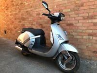 ZNEN ZN 125 T-F FIRENZE 2010 SPARES OR REPAIR
