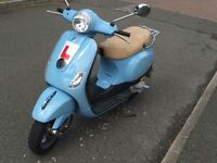 Excellent condition, low mileage Vespa lx50 looking for a new home