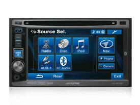 Alpine IVEW530BT Double Din AV system with built in Bluetooth handsfree system