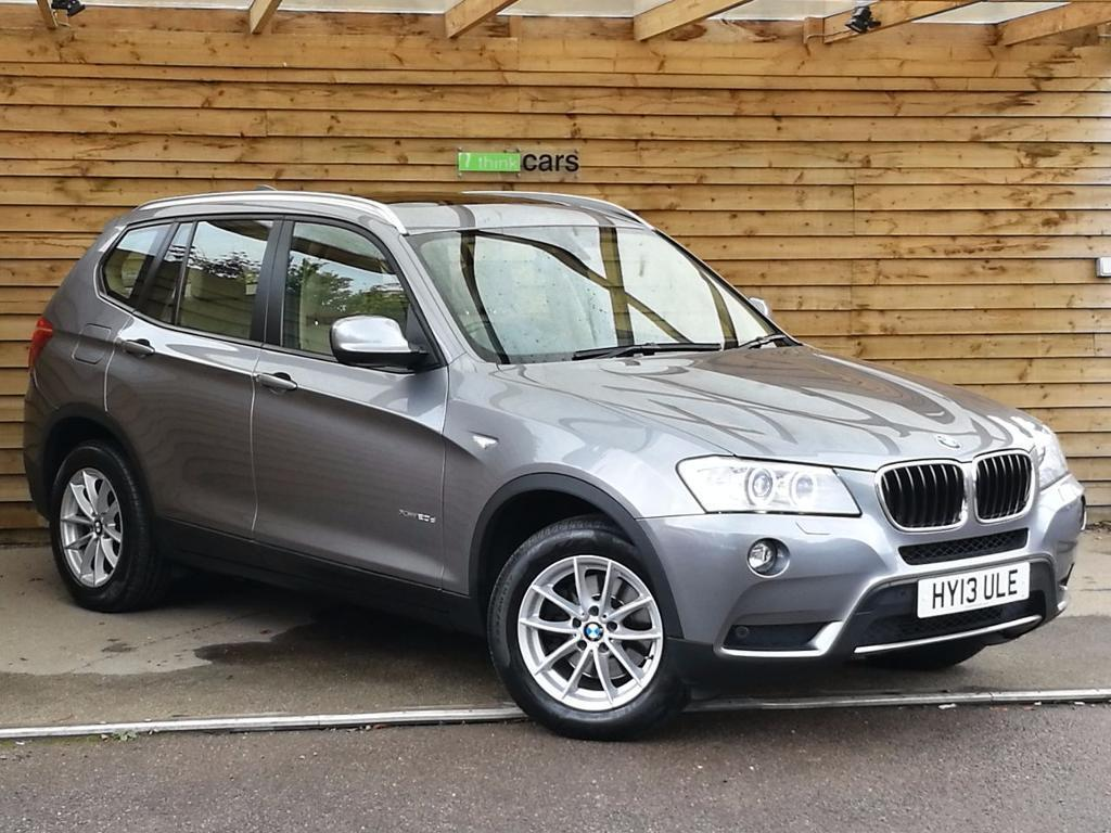 BMW X3 XDrive20d SE 5dr Step Auto ONE PRIVATE OWNER Space Grey Metallic 2013