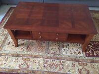 SOLID WOODEN TABLE SET FOR SALE