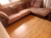Beautiful corner sofa/chaise can deliver