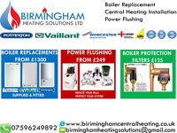 BOILER INSTALLATION / REPLACEMENTS FROM £999 - BIRMINGHAM HEATING SOLUTIONS