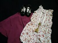 100% Next girls clothes and shoes age 3 / size 6