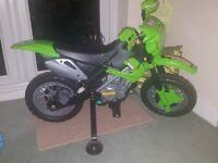 KIDS ELECTRONIC MOTORBIKE