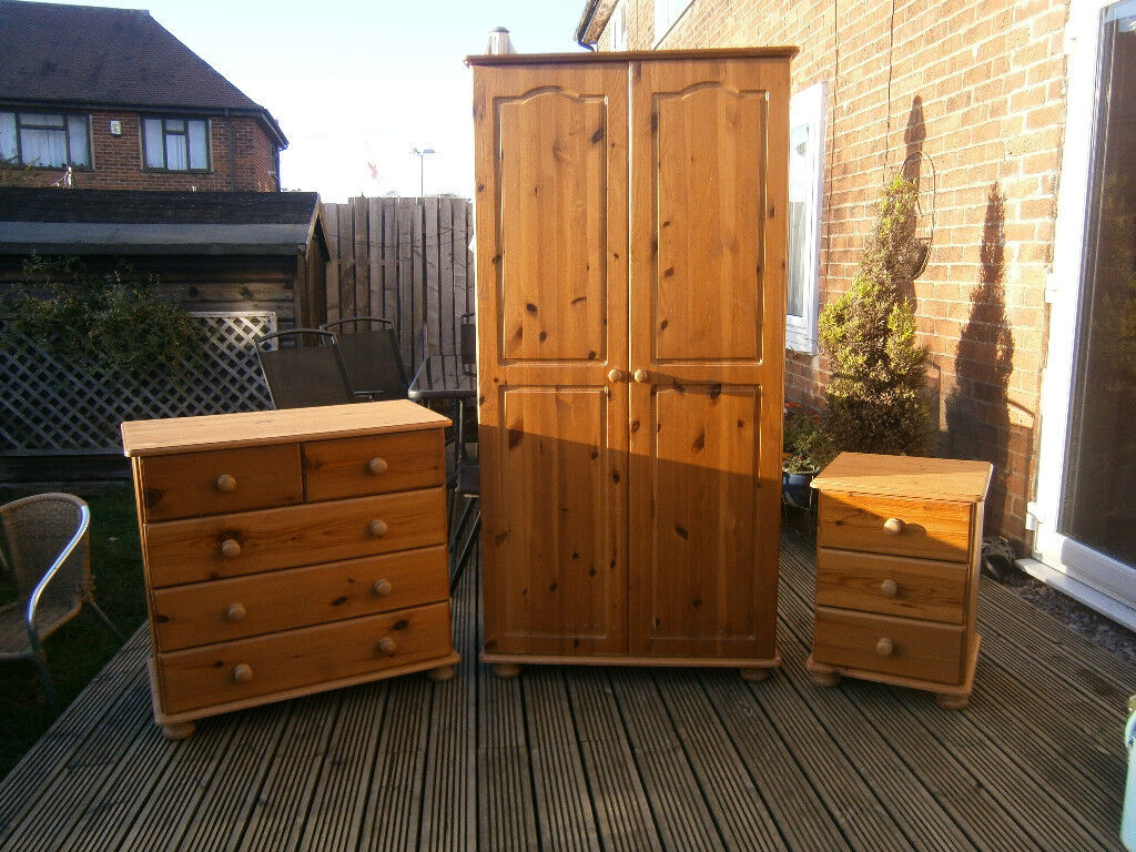 Farmhouse Solid Pine Bedroom Furniture Dovetail Set Shabby Chic Project In Derby Derbyshire Gumtree