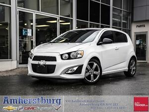 2015 Chevrolet Sonic RS - AUTO, LEATHER, REMOTE START & MORE!